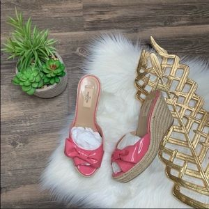 Valentino Bowtie Wedges Shoes